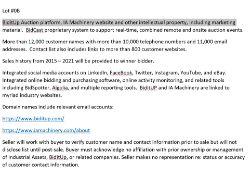 Intellectual Property -- IA Machinery