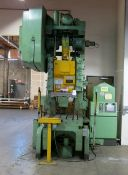 Bliss OBI Punch Press 75 Ton x 36''x 24''. LOADING FEE FOR THIS LOT: $900