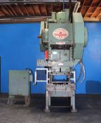 Federal OBI Punch Press 110 Ton x 42'' x 27''. LOADING FEE FOR THIS LOT: $1000