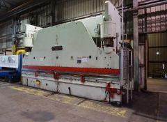 Cincinnati Hydraulic Press Brake 500 Ton x 20' (Located in Painesville, OH -- lot #1013)