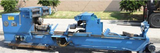 Atlanta Grotness Tank Bead Former Machine 10 Ga. x 0''-110'', Weix Horizontal Double End Welding