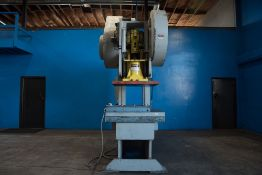 Heim Gap Frame Punch Press 120 Ton x 40'' x 30''. LOADING FEE FOR THIS LOT: $900