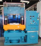 Wabash Hydraulic 4 Post Compression Press 500 Ton x 33'' x 35''