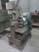 Whitney Hydraulic Portable C-Frame Punch 50 Ton. LOADING FEE FOR THIS LOT: $100