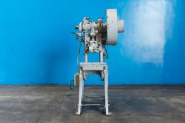 L & J OBI Punch Press 18 Ton x 17'' x 10''. LOADING FEE FOR THIS LOT: $75