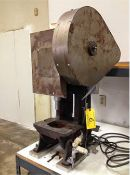 Benchmaster OBI Punch Press 7 1/2 Ton x 11'' x 8''. LOADING FEE FOR THIS LOT: $75