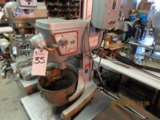 Blakeslee mod. B-12 Mixer w/ S.S. Table 24'' x 24'' x 24''