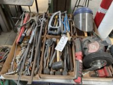 (Lot) (6) Boxes of Assorted Hand Tools