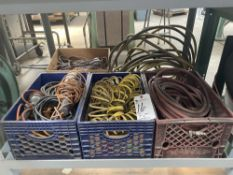 (Lot) Air Hoses & Extension Cords
