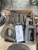 (Lot) (15) C-Clamps