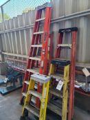 (Lot) 4', 6' & 8' Ladder