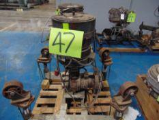 (Lot) 6'' Die w/ Cart
