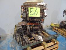 (Lot) 22'' Die w/ Rotary Cart