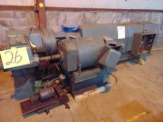 (Lot) Egan 4.5'' 24:1 Water Cooled, 150hp Extruder
