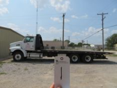 (2006) Sterling mod. LT9500, 3-Axle Rollback Truck