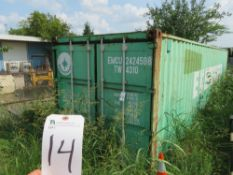 40'L x 8'W x 8'T Evergreen Storage Container