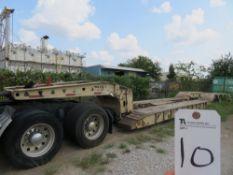(2009) TrailKing mod. TK110HDG, 55 Ton Lowboy