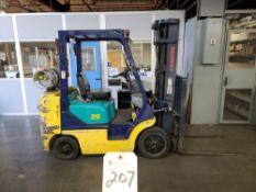Komatsu mod. FC25ST-12 4790LBS CAP Forklift