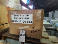 Cutler Hammer mod. RD316T33W, 1600A Circuit Breaker (Reconditioned) (LOADING FEES: $15)