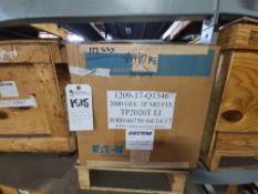 General Electric mod. TP2020, MB Fixed 2000A Circuit Breaker LI (Reconditioned) (LOADING FEES: $20)