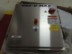 Vac-U-Max Motor Control Panel Assembly