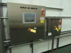 Vac-U-Max Main System Control Panel