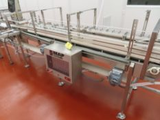 2003 Map Systems 9.5' Diverting & Sorting Conveyor