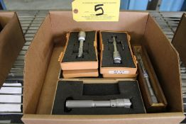 (3) Mitutoyo Inside Micrometers Sizes Include: