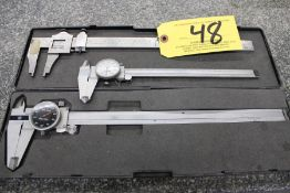 (3) Calipers Including: