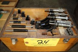 Starrett Micrometer Set Size Range;