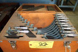 Mitutoyo Micrometer Set Model 103-908