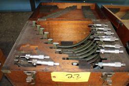 Mitutoyo 7 Piece Micrometer Set (SEE NOTE)