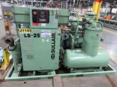 Sullair LS25-200 H A/C KT Rotary Screw Air Compressor