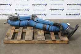 Nederman Nex HD 2M 7' Fume and Dust Extraction Arm