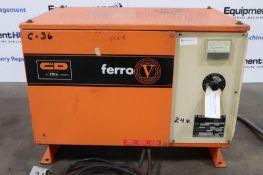 C & D Ferri FR12H/K135G 24V Forklift Battery Charger