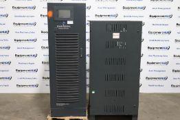 Emerson Chloride 80-NET UPS 60 kVA TS Uninterruptible Power Supply w / Elsy Battery Pack