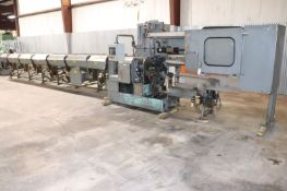 Modern 2LD Conventional Automatic High Speed Tube / Pipe Cutoff Lathe w/ 24' Bar Loader