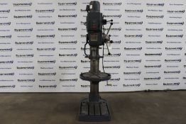 "Victoria / Elliot Progress 5E 26"" Heavy Duty Geared Head Drill Press w/ Power Down Feed"