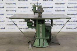 """Richards Electromatic Super Diemaker 74"""" Throat Jig Scroll Saw and Drill"""