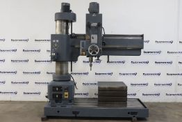 Heckert WMW BR 50 x 1600 5? x 13? Radial Arm Drilling & Tapping Machine