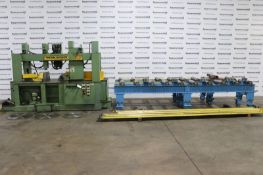 """TrennJaeger PMC8-N 8-1/2"""" x 24"""" Cold Saw, Full Machine Miter, (2) 13' Heavy Duty Conveyors"""