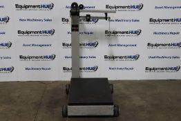 Cardinal Detecto 854F100PK 1,000 Lb. Capacity Mechanical Beam Portable Platform Scale