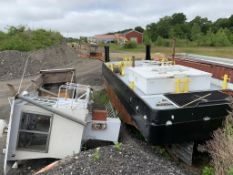 "1993 32"" Push Boat by MIF Design w/ Folding Wheelhouse Hull ID: WB138MIF0793 13 Gross Tons"