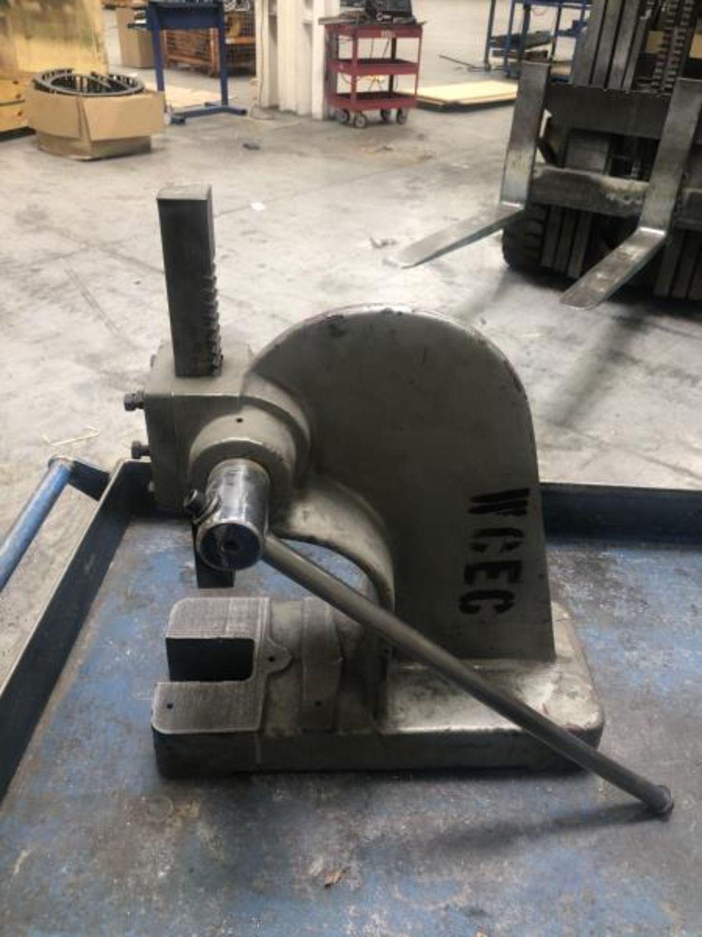 Manual arbor press - Image 3 of 3