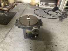 Bridgeport rotary table 15, SN: 3545