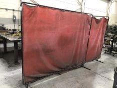 Lot of (4) welding screens