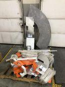 Pallet of aluminum parts & pieces