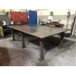 Large table, 6'x10', 1.5 steel