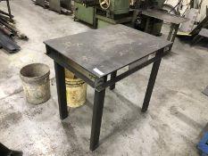 Steel table 2'x3'