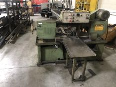 DoAll metal bandsaw horizontal, M: C-912A with roller bed
